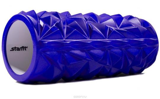 Ролик массажный STARFIT FA-504 140*330мм, синий