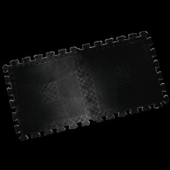 Коврик резиновый черный, толщина 20 мм