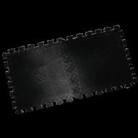 Коврик резиновый черный, толщина 12 мм