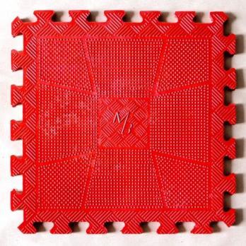 Коврик резиновый цветной (красный, желтый, синий, зелёный) толщина 12 мм.