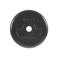 Диск обрезиненный Atlet, 25 кг_1