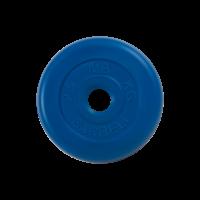 Диск обрезиненный, синий , Standart 2,5 кг