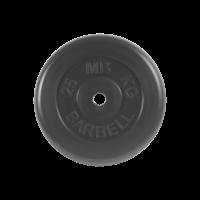 Диск обрезиненный, Standart 25 кг_0
