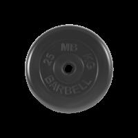 Диск обрезиненный, Standart 25 кг_1