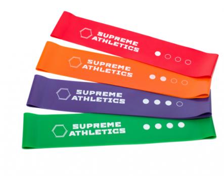 Набор резиновых петель Mini Bands Supreme Athletics
