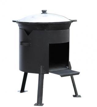 Комплект казан на 6-22 литра + печка