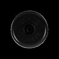 Диск обрезиненный, черный, евро-классик 50 кг