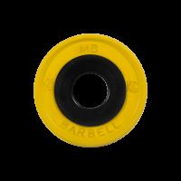 Диск обрезиненный, желтый, евро-классик 1,25 кг