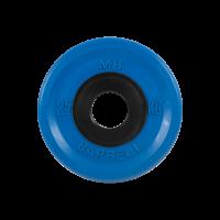 Диск обрезиненный, синий, евро-классик 2,5 кг