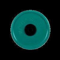 Диск обрезиненный, зеленый, евро-классик 50 кг
