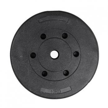 Диск пластиковый/цемент чёрный 10 кг