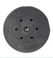 Диск пластиковый/цемент чёрный 15 кг
