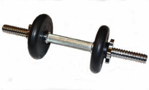 Гантель разборная 4 кг (хромированный гриф)