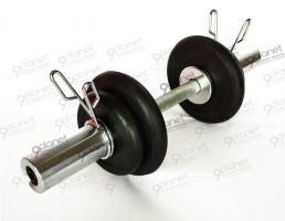 Гантель разборная 11,5 - 16,5 кг (D 51 мм)